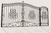 "Ворота и калитка ""Боярские-3"" 4,5м"