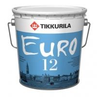 Интерьерная краска Tikkurila Euro 12 (Тиккурила Евро 12) белая
