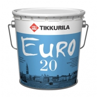 Интерьерная краска Tikkurila Euro 20 (Тиккурила Евро 20) белая