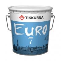 Интерьерная краска Tikkurila Euro 7 (Тиккурила Евро 7) белая