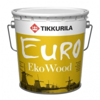 Tikkurila Euro Eko Wood (Евро Эко Вуд) махагон