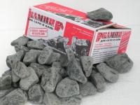 Камни для сауны габбро-диабаз обвалованный 20кг
