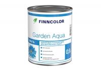 Эмаль акриловая белая Garden Aqua