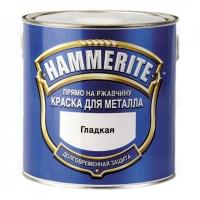 Эмаль Hammerite глянцевая (серебристая)