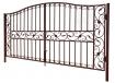 "Ворота и калитка ""Купеческие"" 4,5м"
