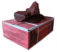 Камни для сауны малиновый кварцит колотый 20кг