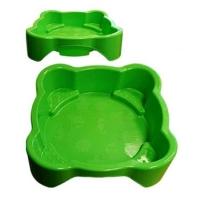 """Детская пластиковая песочница мини-бассейн """"Песочница квадратная"""" Marian Plast 374"""