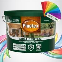 Pinotex Aqua Protect (Пинотекс Аква Протект) колеровка