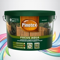 Pinotex Focus Aqua (Пинотекс Фокус Аква) орех