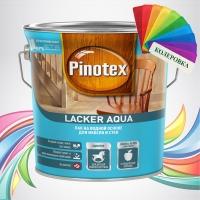 Pinotex Lacker Aqua (Пинотекс Лакер Аква) колеровка