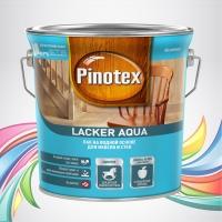 Pinotex Lacker Aqua (Пинотекс Лакер Аква) прозрачный