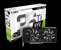 Видеокарта Palit Geforce RTX 3060ti Dual OC 8Gb [NE6306TS19P2-190AD]