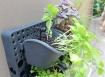 Панель для растений с системой полива