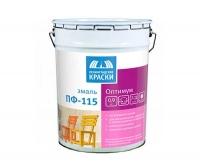 Эмаль ПФ-115 «Оптимум» строительная белая