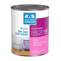 Эмаль ПФ-266 «Оптимум» светло-коричневая