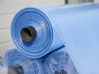 Плёнка парниковая 150мкм, ширина 6м (голубая)