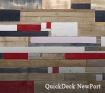 Плиты QuickDeck Plus для пола цветные