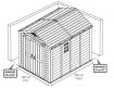 Хозблок Keter Factor 8x11 (2,56х3,31м)