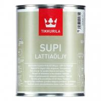 Масло для пола бани Tikkurila Supi Lattiaolju (Тиккурила Супи Латтьяоли) колеровка