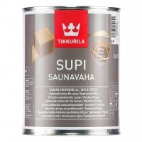 Воск для сауны Tikkurila Supi Saunavaha (Тиккурила Супи Саунаваха) прозрачный