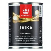 Перламутровая краска Tikkurila Taika (Тиккурила Тайка) серебро