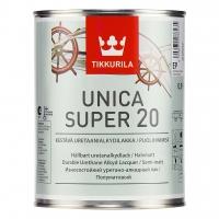 Лак паркетный Unica Super 20 (Уника Супер) полуматовый