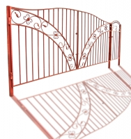 "Ворота и калитка ""Былина"" 4м"