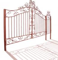 """Ворота и калитка """"Посадские"""" 4,5м"""