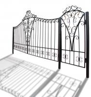 """Ворота и калитка """"Светлица"""" 5м"""
