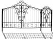 """Ворота и калитка """"Светлица"""" 4,5м"""