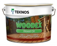 Teknos Woodex Wood Oil (цв.серый)